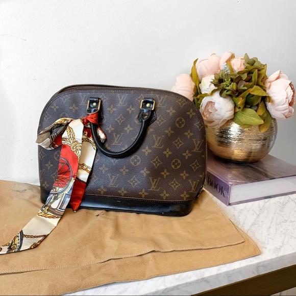 Louis Vuitton Handbags - Louis Vuitton Alma PM painted